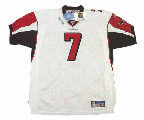 MICHAEL VICK Atlanta Falcons 2004 Away Reebok Authentic Throwback NFL Jersey  - FRONT