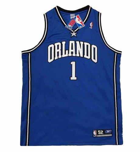 TRACY McGRADY Orlando Magic 2003 Away Reebok Authentic Throwback NBA Jersey - FRONT