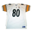 PLAXICO BURRESS Pittsburgh Steelers 2003 Away Reebok Authentic Throwback NFL Jersey - FRONT