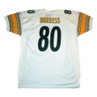 PLAXICO BURRESS Pittsburgh Steelers 2003 Away Reebok Authentic Throwback NFL Jersey - BACK