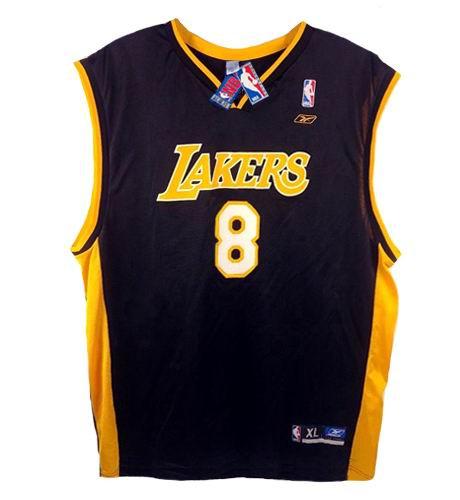 KOBE BRYANT Los Angeles Lakers 1996 Alternate Reebok Throwback NBA Jersey - FRONT