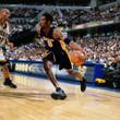 KOBE BRYANT Los Angeles Lakers 1996 Alternate Reebok Throwback NBA Jersey - ACTION