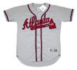ANDRUW JONES Atlanta Braves 1999 Away Majestic Throwback Baseball Jersey - FRONT