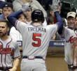 FREDDIE FREEMAN  Atlanta Braves Away Majestic Baseball Jersey - ACTION