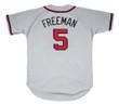 FREDDIE FREEMAN  Atlanta Braves Away Majestic Baseball Jersey - BACK