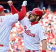 BRYCE HARPER Philadelphia Phillies Home Majestic Baseball Jersey - ACTION