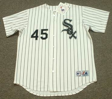 MICHAEL JORDAN Chicago White Sox 1994 Home Majestic Baseball Throwback Jersey - FRONT