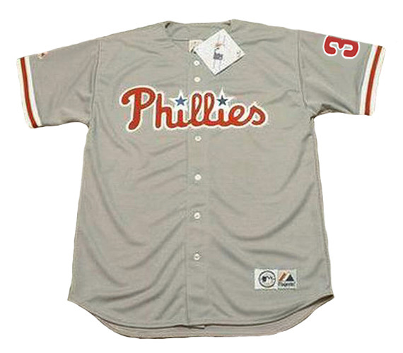 premium selection 153c1 a0897 BRYCE HARPER Philadelphia Phillies Away Majestic Baseball Jersey
