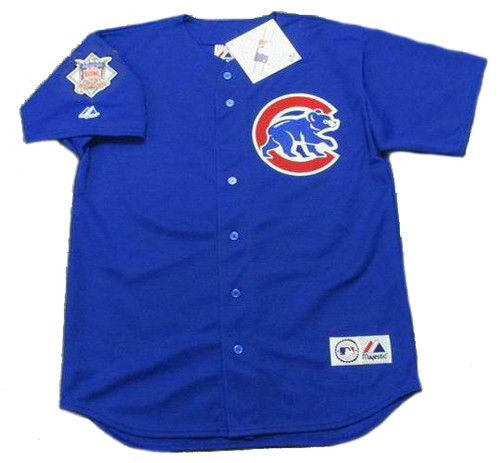 Andre Dawson Chicago Cubs Majestic MLB Throwback Alternate Jersey - FRONT
