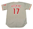 RHYS HOSKINS Philadelphia Phillies Away Majestic Baseball Jersey - BACK