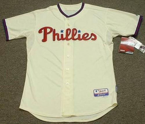"BRYCE HARPER Philadelphia Phillies Majestic Alternate ""Cool Base"" Authentic Baseball Jersey - FRONT"