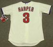 "BRYCE HARPER Philadelphia Phillies Majestic Alternate ""Cool Base"" Authentic Baseball Jersey - BACK"