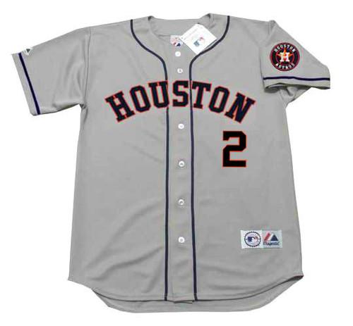 ALEX BREGMAN Houston Astros  Away Majestic Baseball Throwback Jersey - FRONT
