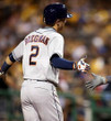 ALEX BREGMAN Houston Astros  Away Majestic Baseball Throwback Jersey - ACTION
