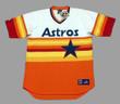 ALEX BREGMAN Houston Astros 1980's Home Majestic Baseball Throwback Jersey - FRONT