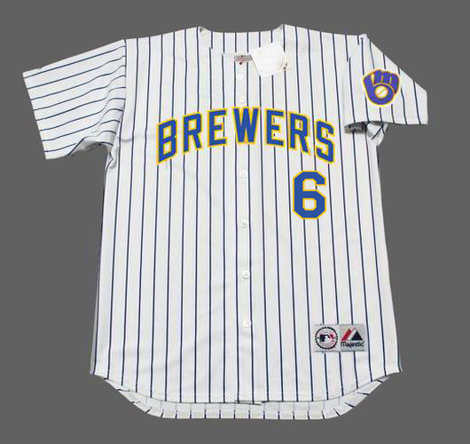 brand new 40748 b39cb LORENZO CAIN Milwaukee Brewers Majestic Alternate Home Baseball Jersey