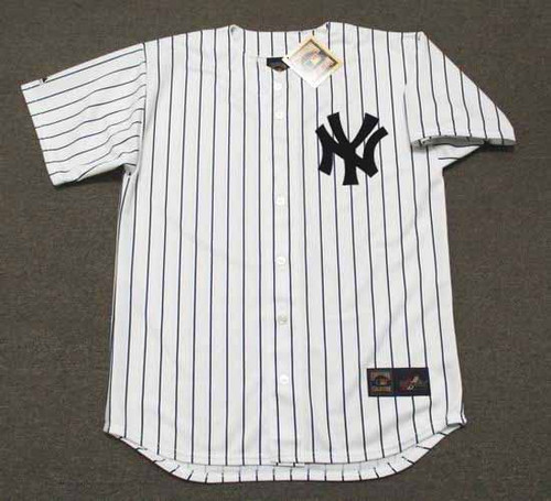 AARON JUDGE New York Yankees 2017 Majestic Home Baseball Jersey - FRONT
