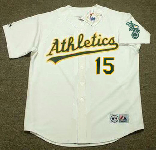 Oakland Athletics 2002 Home Majestic
