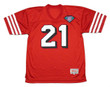 DEION SANDERS San Francisco 49ers 1994 Throwback Home NFL Football Jersey - FRONT