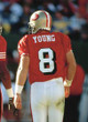 STEVE YOUNG San Francisco 49ers 1994 Throwback Home NFL Football Jersey - ACTION