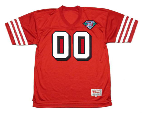 SAN FRANCISCO 49ers 1994 Throwback Home NFL Jersey Customized Jersey - FRONT