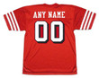 SAN FRANCISCO 49ers 1994 Throwback Home NFL Jersey Customized Jersey - BACK