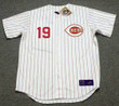 JOEY VOTTO Cincinnati Reds 1967 Home Majestic Baseball Throwback Jersey - FRONT