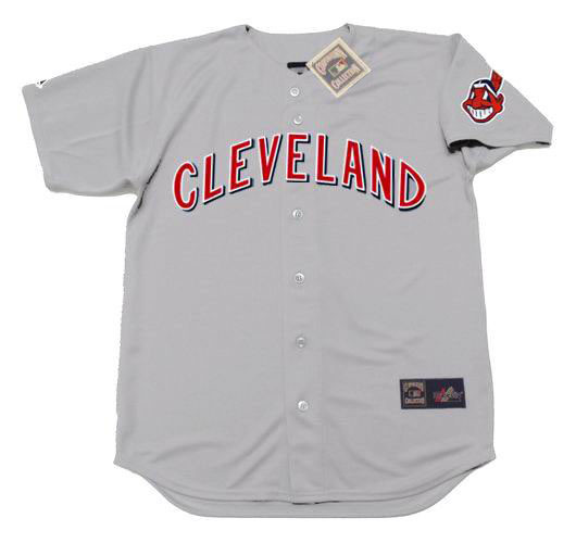 timeless design 9a3ad a15ca SAM McDOWELL Cleveland Indians 1970 Away Majestic Baseball Throwback Jersey