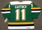 MIKE GARTNER Minnesota North Stars 1989 CCM Vintage Throwback NHL Jersey