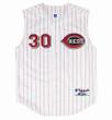 KEN GRIFFEY JR. Cincinnati Reds 2000 Home Russell Authentic Throwback Baseball Jersey - FRONT