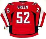 MIKE GREEN Washington Capitals 2010 REEBOK Throwback NHL Hockey Jersey