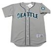 ALEX RODRIGUEZ Seattle Mariners 1997 Majestic Throwback Away Baseball Jersey - FRONT