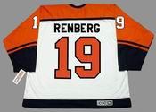 MIKAEL RENBERG Philadelphia Flyers 1995 CCM Throwback Home NHL Hockey Jersey - BACK