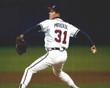 ATLANTA BRAVES 1990's Home Majestic Throwback Custom MLB Jerseys - ACTION