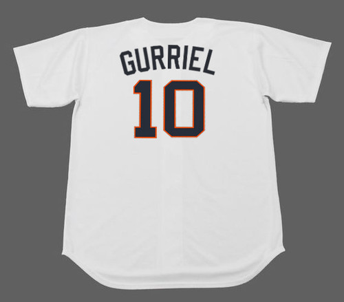 YULI GURRIEL Houston Colt .45's 1960's Home Majestic Baseball Throwback Jersey - BACK