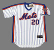 PETE ALONSO New York Mets 1986 Home Majestic Throwback Baseball Jersey - FRONT