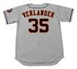 JUSTIN VERLANDER Houston Astros Majestic Away Baseball Jersey - BACK