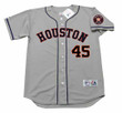 GERRIT COLE Houston Astros Majestic Away Baseball Jersey - FRONT