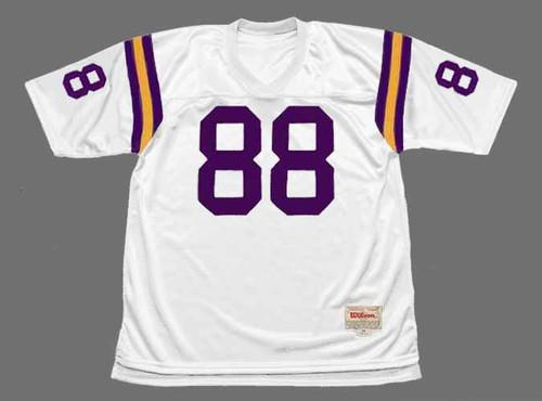 ALAN PAGE Minnesota Vikings 1975 Away Throwback NFL Football Jersey - FRONT