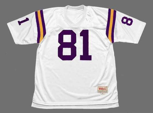 CARL ELLER Minnesota Vikings 1975 Away Throwback NFL Football Jersey - FRONT