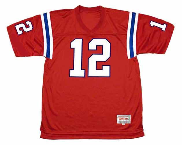 TOM BRADY New England Patriots 2002 Throwback NFL Football Jersey