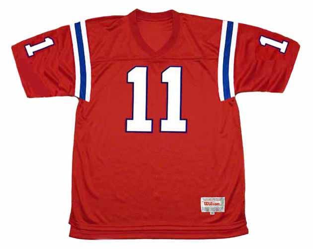 JULIAN EDELMAN New England Patriots 2012 Throwback NFL Football Jersey