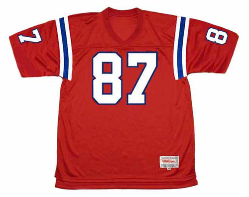 ROB GRONKOWSKI New England Patriots 2012 Throwback NFL Football Jersey - FRONT