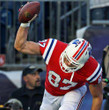 ROB GRONKOWSKI New England Patriots 2012 Throwback NFL Football Jersey - ACTION