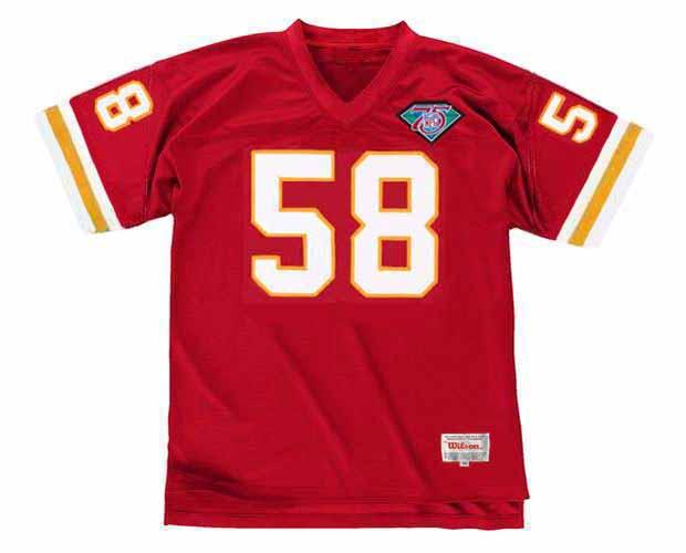DERRICK THOMAS Kansas City Chiefs 1994 Throwback Home NFL Football Jersey