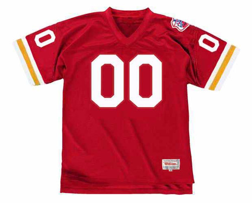 KANSAS CITY CHIEFS 1969 Throwback Home NFL Jersey Customized Jersey - FRONT