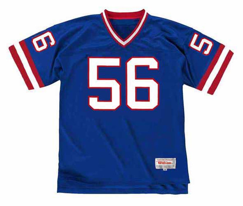 LAWRENCE TAYLOR New York Giants 1988 Throwback Home NFL Football Jersey - FRONT