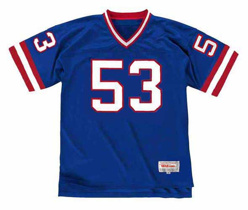 HARRY CARSON New York Giants 1988 Throwback Home NFL Football Jersey - FRONT