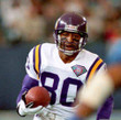 CRIS CARTER Minnesota Vikings 1994 Throwback Away NFL Football Jersey - ACTION