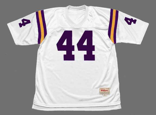 CHUCK FOREMAN Minnesota Vikings 1977 Away Throwback NFL Football Jersey - FRONT